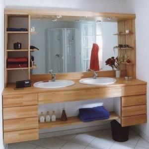Plan de travail classique flip design boisflip design bois for Plan travail salle de bain