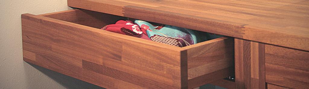 Tiroirs et caissons bois flip design boisflip design bois for Plan de travail salle de bain bois massif