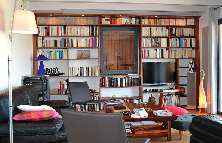 Biblioth?que Bois Massif : bibliotheque-bois-massif