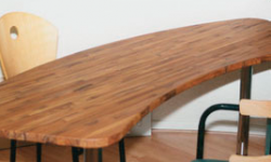 Bureau flip design boisflip design bois for Bureau en bois massif
