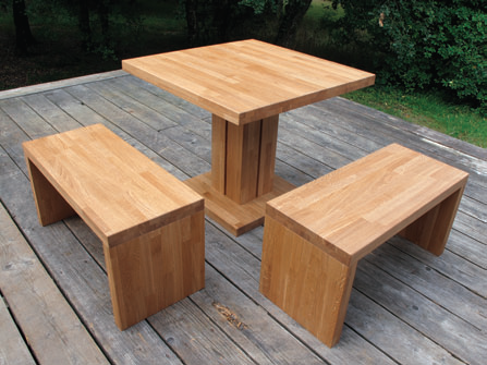 Table & Bancs design sur mesure