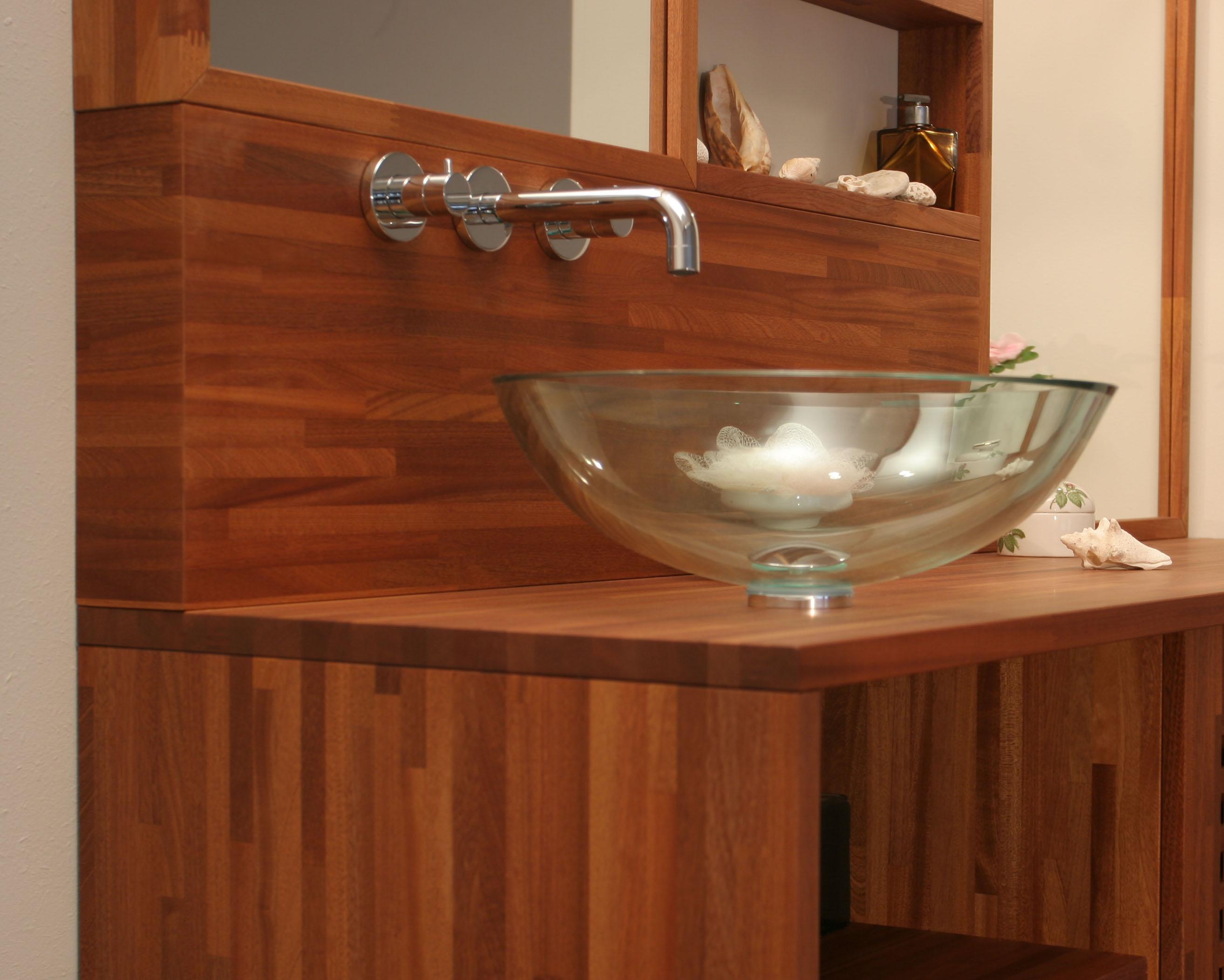Dosserets cr dences flip design boisflip design bois - Traitement bois salle de bain ...