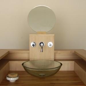 Salle de bain flip design boisflip design bois - Plan de travail bois massif sur mesure ...