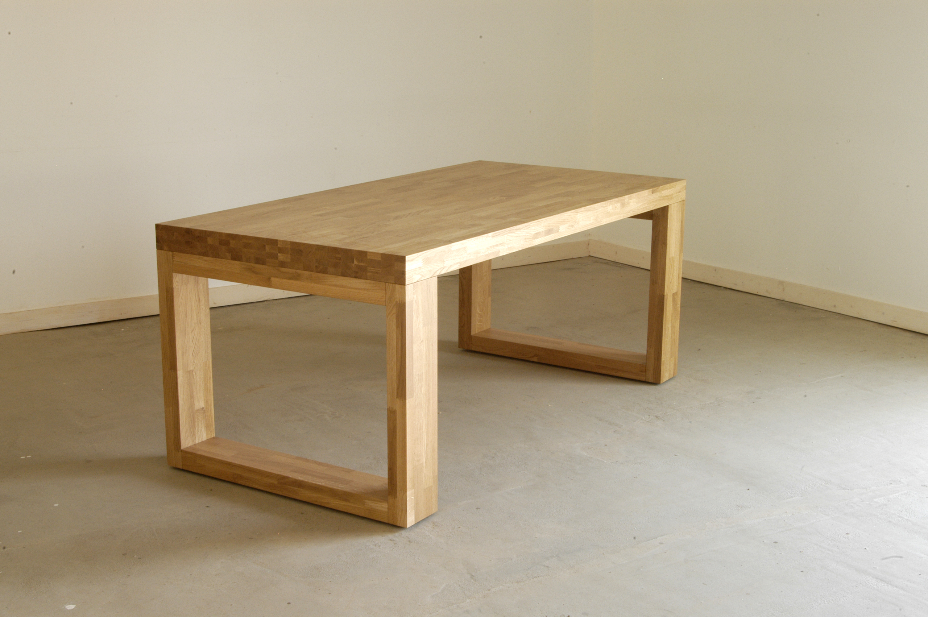 Table bois moderne for Table en bois