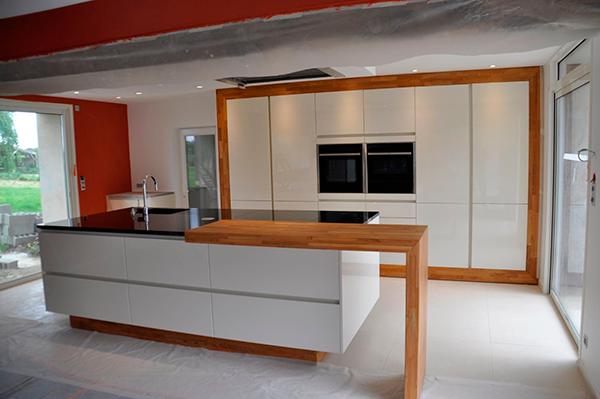 cuisine plan de travail bois massif sur mesure paisflip design bois. Black Bedroom Furniture Sets. Home Design Ideas