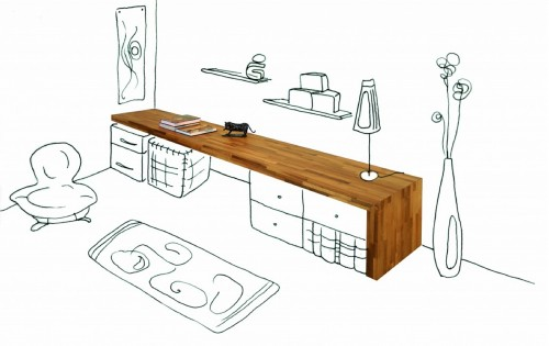plan pour fabriquer un bureau en bois. Black Bedroom Furniture Sets. Home Design Ideas